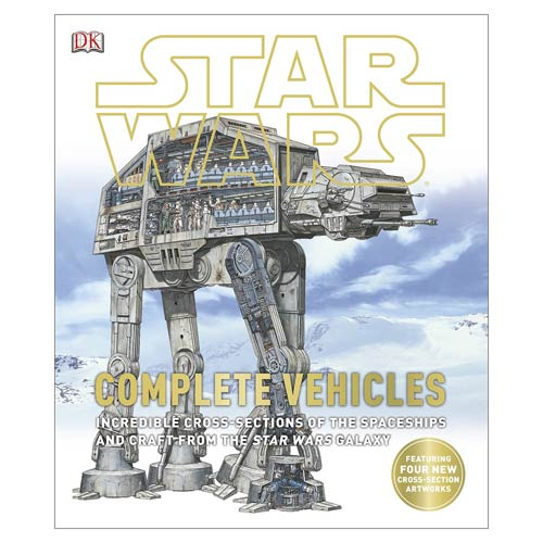Star Wars Complete Vehicles Hardcover Book
