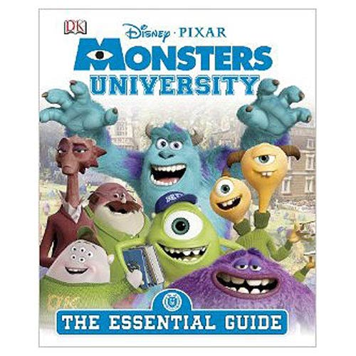 Monsters University The Essential Guide Hardcover Book