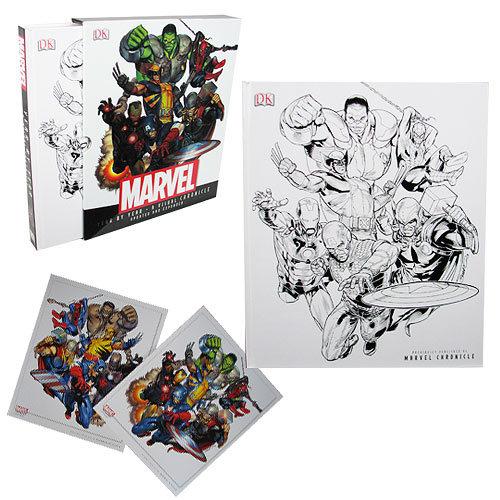 Marvel Year by Year Hardcover Book