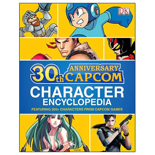Capcom 30th Anniversary Character Encyclopedia Book