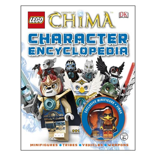 LEGO Legends of Chima Character Encyclopedia Hardcover Book