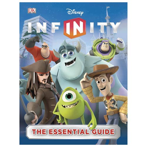 Disney Infinity Essential Guide Hardcover Book