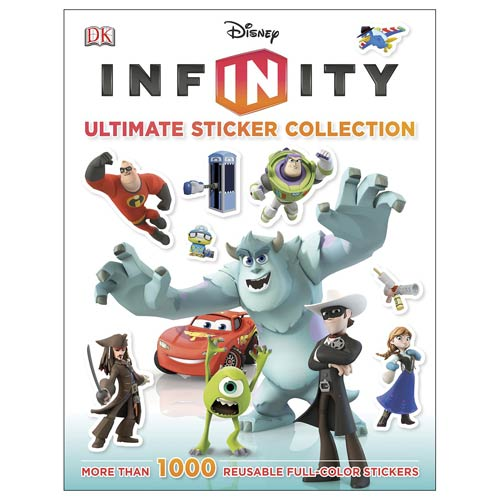 Disney Infinity Ultimate Sticker Collection Book