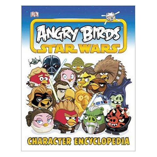Star Wars Angry Birds Character Encyclopedia Hardcover Book