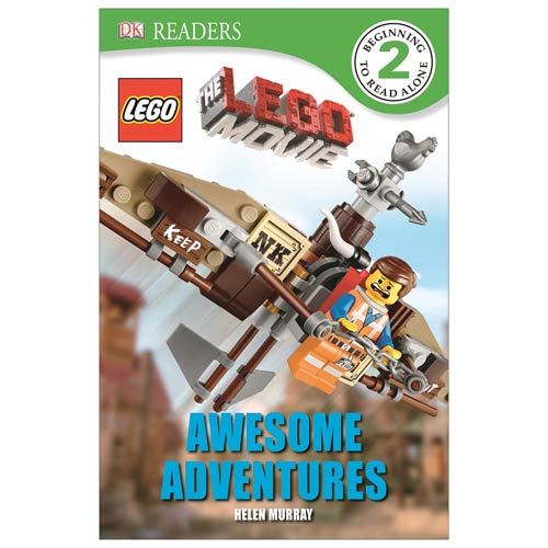 LEGO Movie Awesome Adventures DK Readers 2 Hardcover Book
