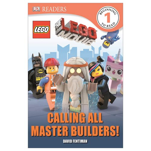LEGO Movie Calling All Master Builders Hardcover Book