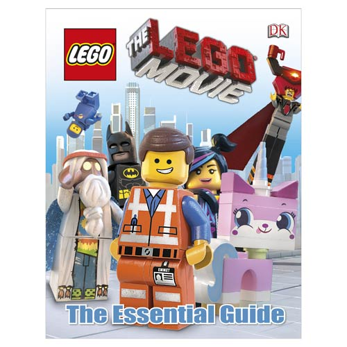 The LEGO Movie The Essential Guide Hardcover Book