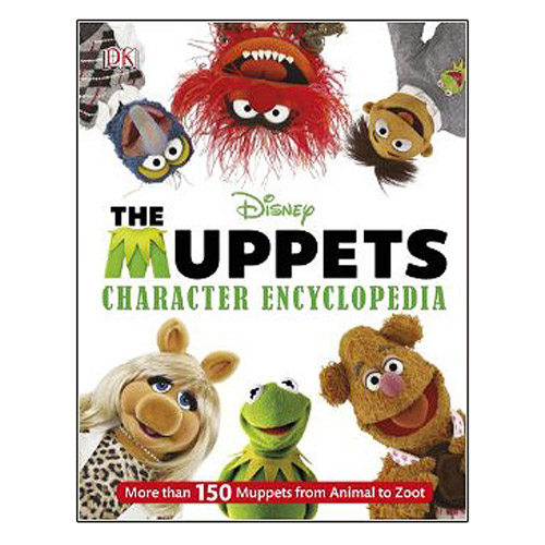 Muppets Character Encyclopedia Hardcover Book