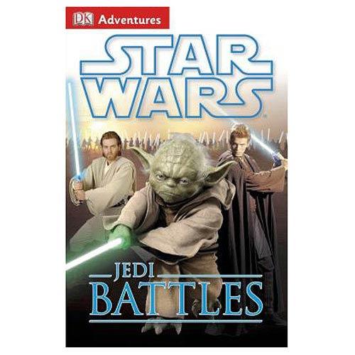 Star Wars Jedi Battles DK Adventures Hardcover Book
