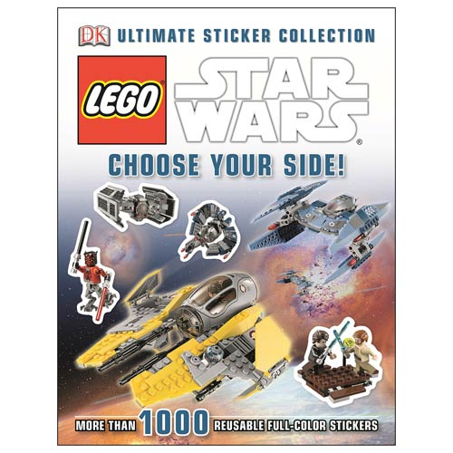Star Wars Choose Your Side Sticker Collection Book