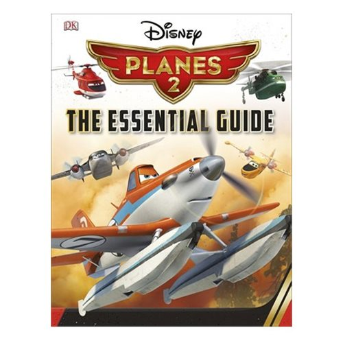 Disney Planes Fire and Rescue Essential Guide Hardcover Book