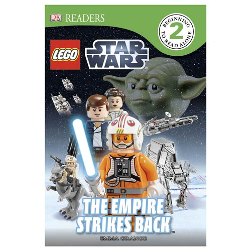 LEGO Star Wars Empire Strikes Back DK Readers 2 Book