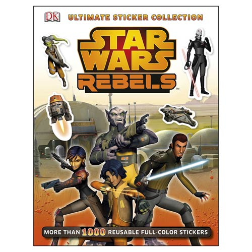 Star Wars Rebels Ultimate Sticker Collection Book