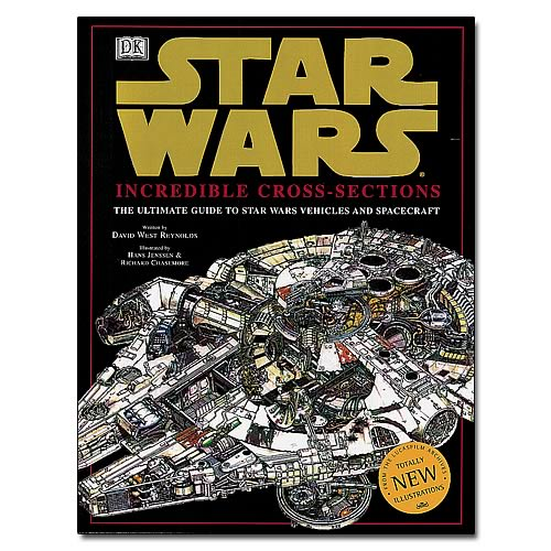 Star Wars Incredible Cross Sections Hardcover Book