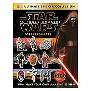 Star Wars Episode VII Force Awakens Stickerscapes Collection Book