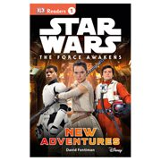 Star Wars Episode VII The Force Awakens DK Reader 1 Hardcover Book