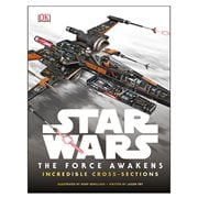 Star Wars Episode VII Force Awakens Incredible Cross Sections Book
