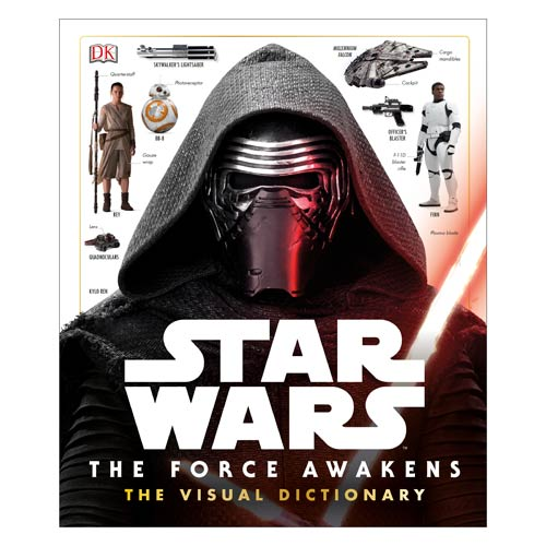 Star Wars VII - The Force Awakens Visual Dictionary Book