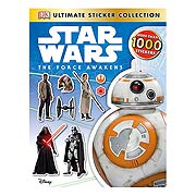Star Wars Episode VII Force Awakens Ultimate Sticker Collection Book