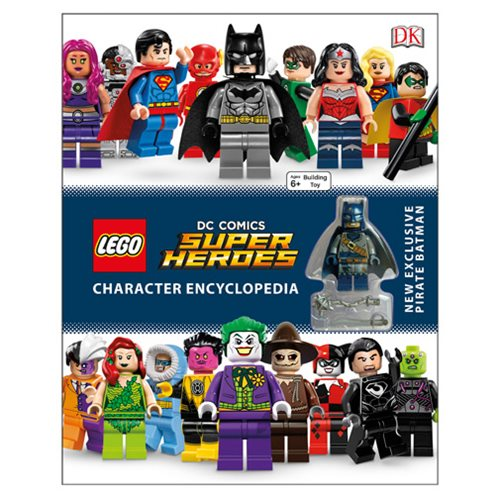 LEGO DC Comics Super Heroes Character Encyclopedia Book