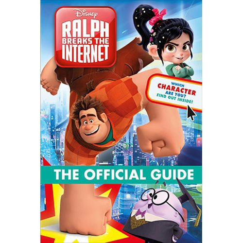 Wreck-It-Ralph 2 Ralph Breaks the Internet Official Guide Hardcover Book
