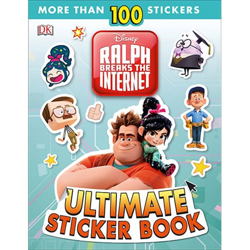 Wreck-It Ralph 2 Ralph Breaks the Internet Ultimate Sticker Paperback Book