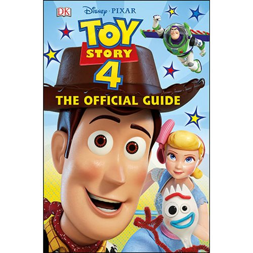 Disney Pixar Toy Story 4 The Official Guide Hardcover Book