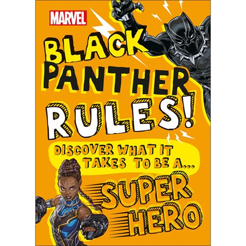 Marvel Black Panther Rules! Discover What It Takes To Be A Super Hero Hardcover Book