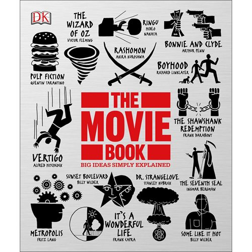The Movie Book: Big Ideas Simply Explained Paperback Book