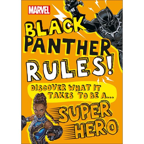 Marvel Black Panther Rules! Discover What It Takes To Be A Super Hero Paperback Book
