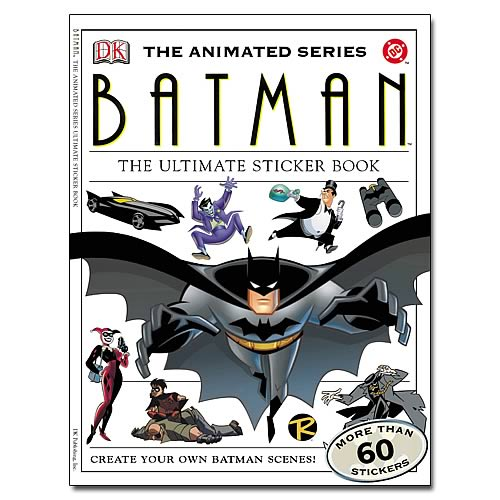 Batman The Animated Series Sticker Book