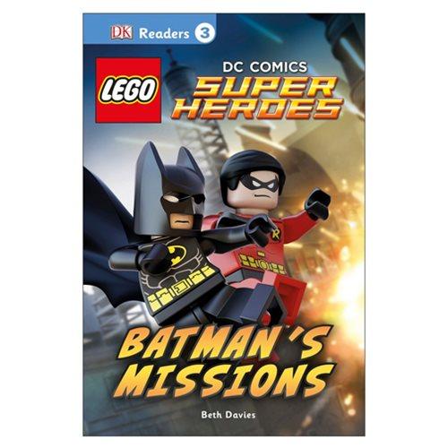 LEGO DC Comics Super Heroes Batman's Missions DK Readers 3 Hardcover Book