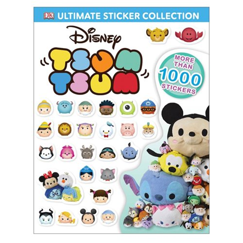 Disney Tsum Tsum Ultimate Sticker Collection Book