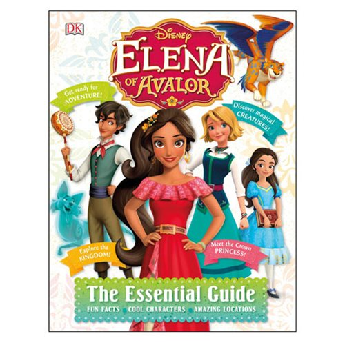 Disney Elena of Avalor The Essential Guide Hardcover Book