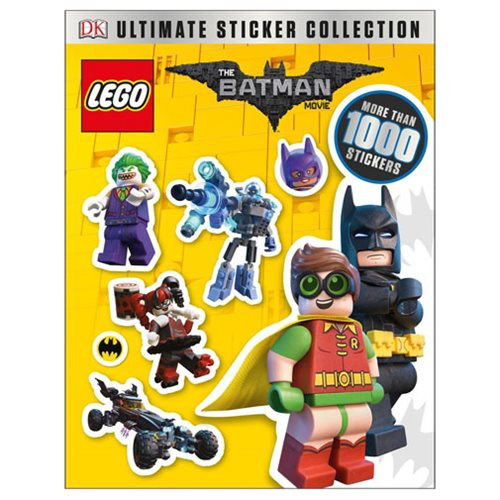 LEGO Batman Movie Ultimate Sticker Collection Paperback Book