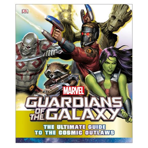 Marvel GotG The Ultimate Guide to the Cosmic Outlaws Book