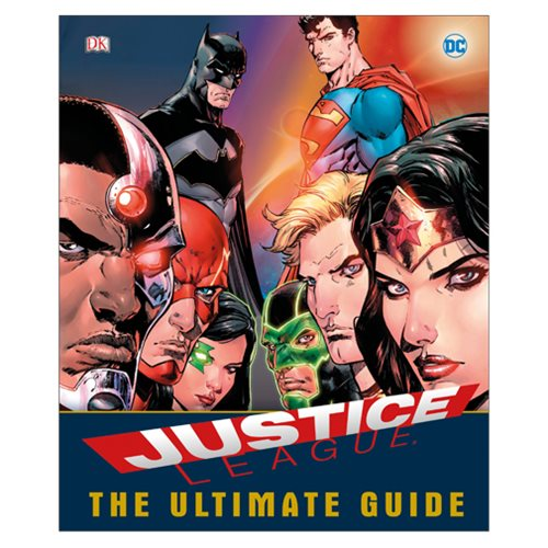 DC Comics Justice League The Ultimate Guide Superheroes Book