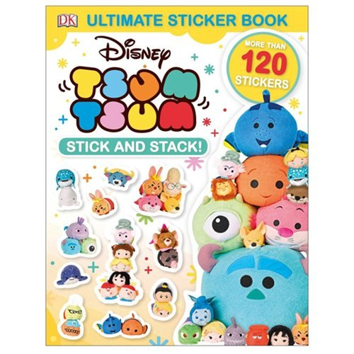 Disney Tsum Tsum Stick-and-Stack Ultimate Sticker Book