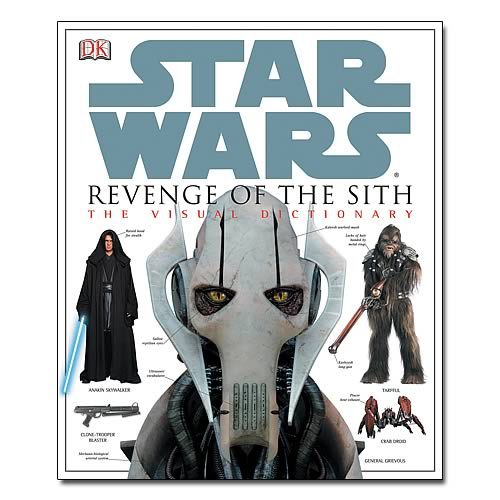 Star Wars Episode III Visual Dictionary Hardcover Book