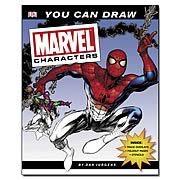 Marvel You Can Draw Marvel Characters Book Book