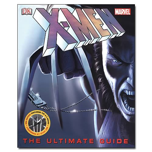 X-Men Ultimate Guide Hardcover Book