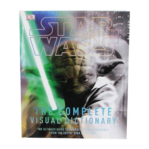 Star Wars Complete Visual Dictionary Hardcover Book