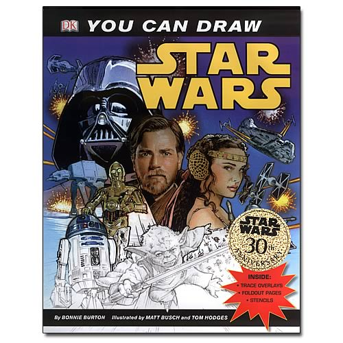 Star Wars: You Can Draw Star Wars Book Book