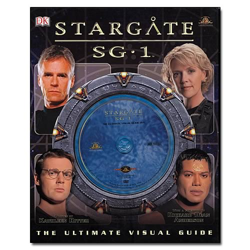Stargate SG-1 Ultimate Visual Guide Hardcover Book with DVD