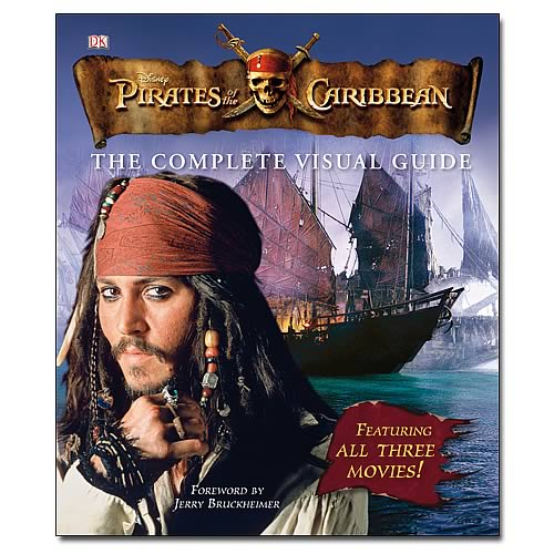 Pirates off The Caribbean Visual Guide Hardcover Book