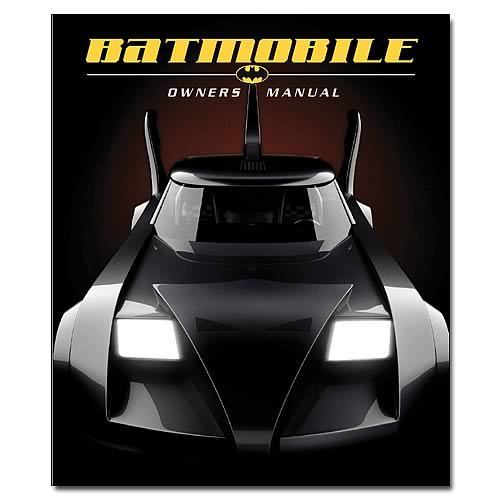 Batman Batmobile Owners Manual Hardcover Book