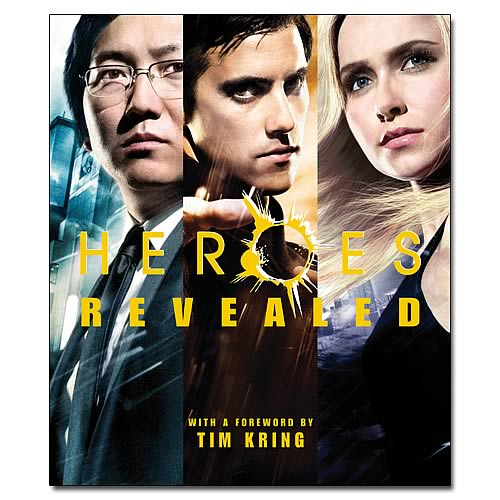 Heroes Revealed Hardcover Book