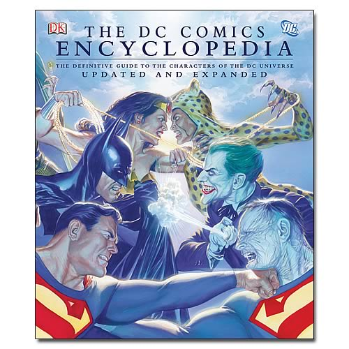 DC Comics Volume 2 Encyclopedia Hardcover Book
