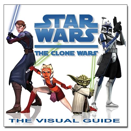 Star Wars Clone Wars Visual Guide Hardcover Book