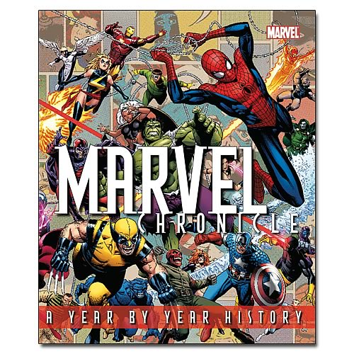 Marvel Chronicle Hardcover Book